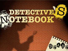 the detective's notebook